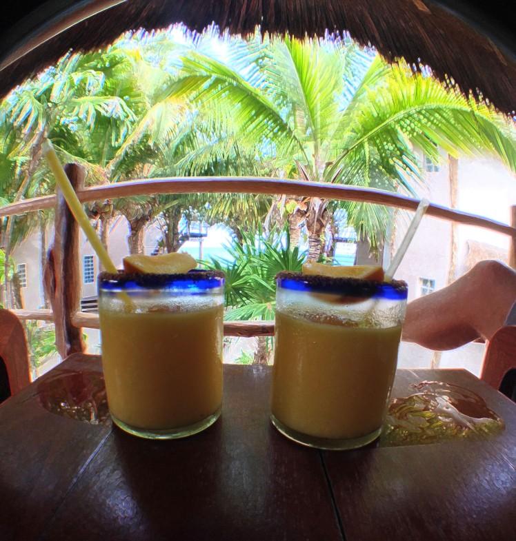 Famous Mango Margaritas