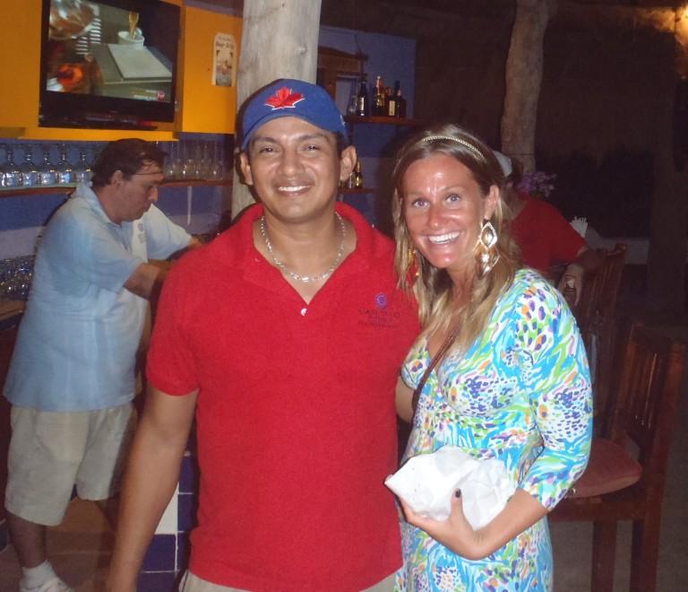 Gonzo and Janine at Casa de los Sueños
