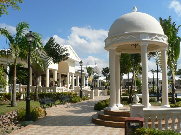 Beautiful Architecture throughout the Hotel Riu Negril