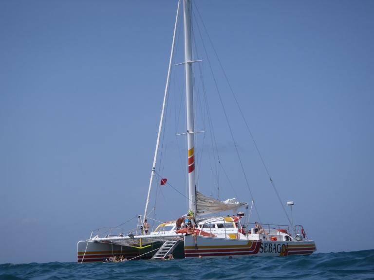 Cruisin on a Catamaran