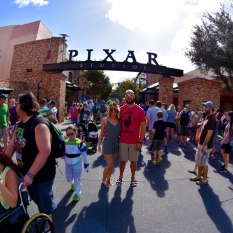 A Very Crowded Disney's Hollywood Studios - Thanksgiving Day