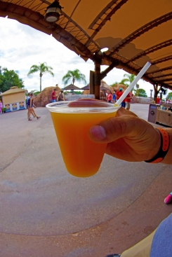 Mango Starr frozen cocktail from the African Outpost